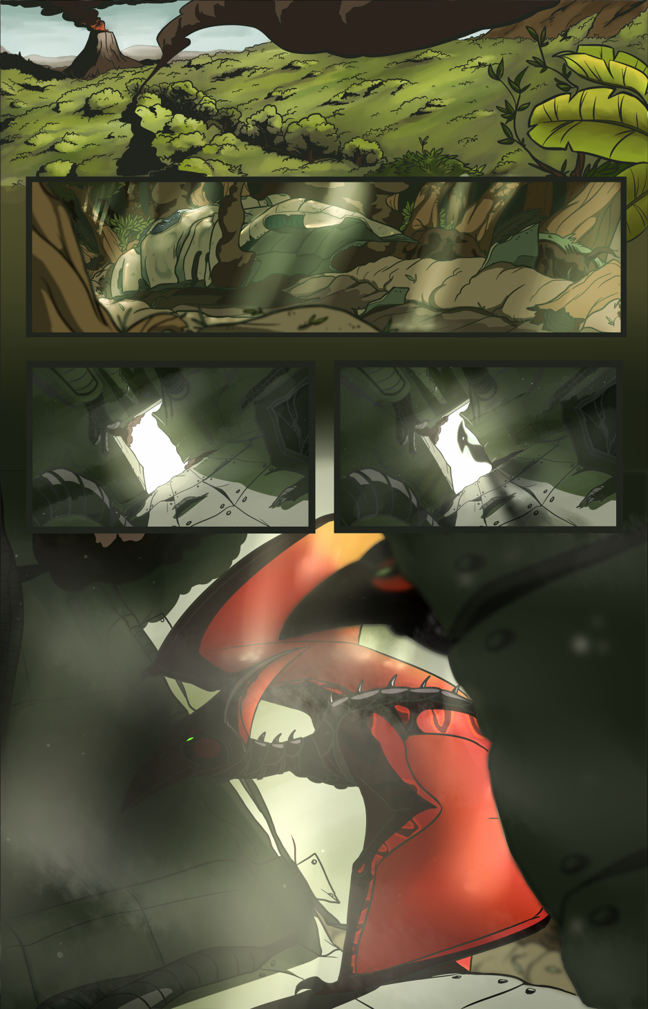 SFA Comic Prologue - Page 1 by PumpkinSoup