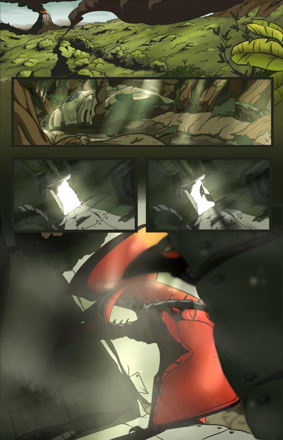 SFA Comic Prologue - Page 1