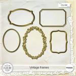 FREEBIE - Vintage frames CU