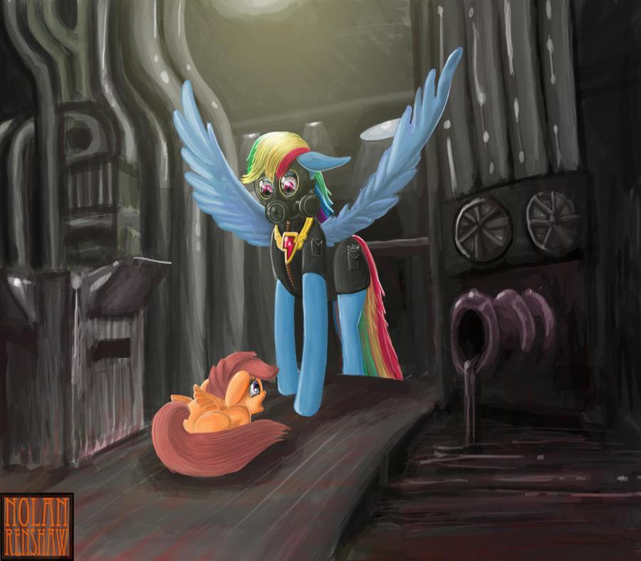 Rainbow Dash: CEO by sinpumpkin