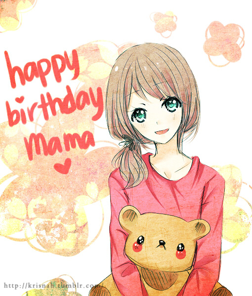 Happy Birthday Mom By Krisppie