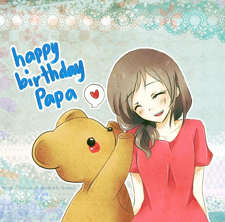 Happy Birthday Papa By Krisppie On DeviantArt