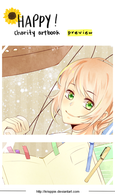 Happy! Charity Artbook preview by krisppie
