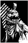 Batman by David Finch - Inks
