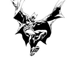 Batman by Ivan Reis - Inks