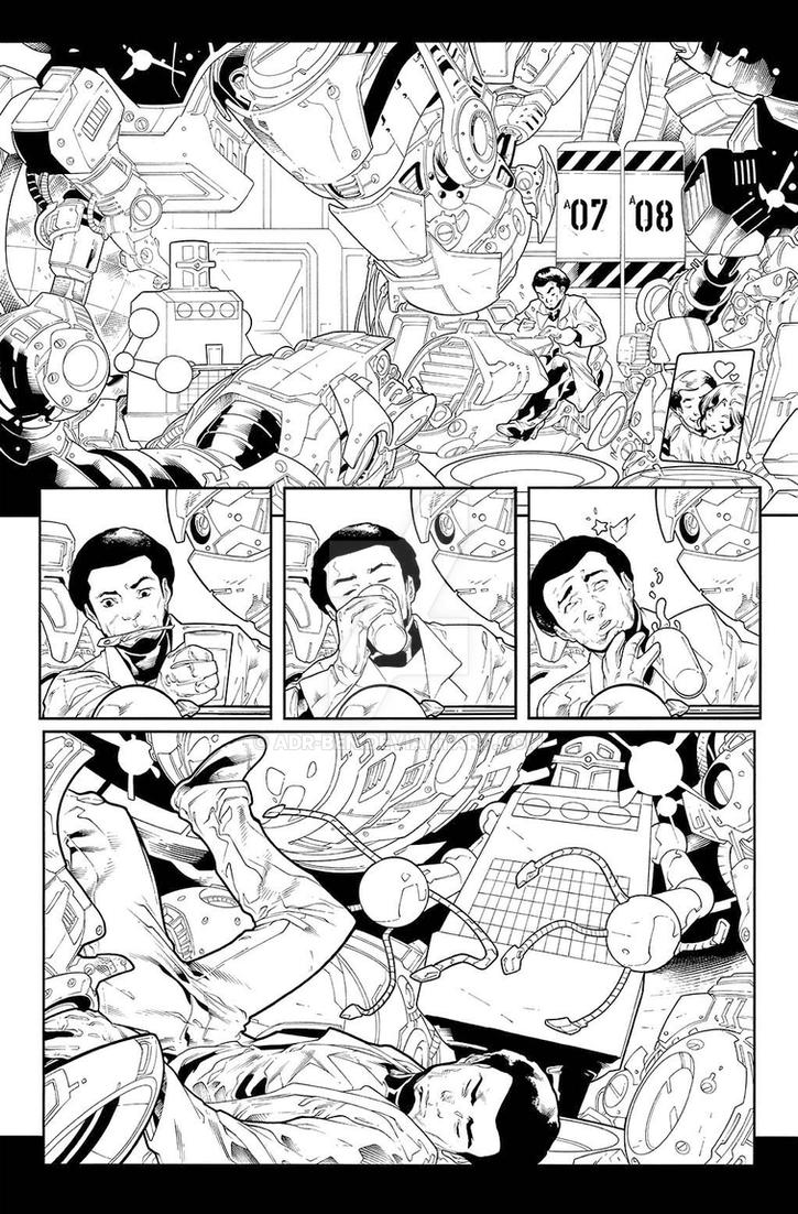Amazing Spider-Man #18 Page 6 by adr-ben