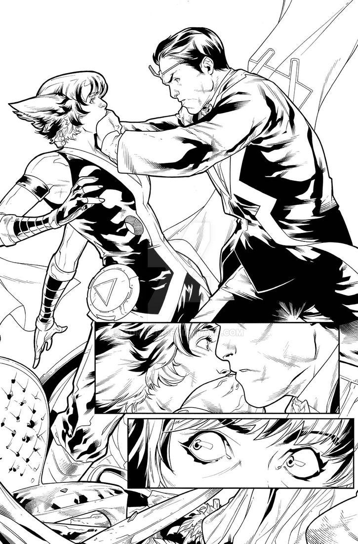 Uncanny Inhumans #17 Page 1 by adr-ben