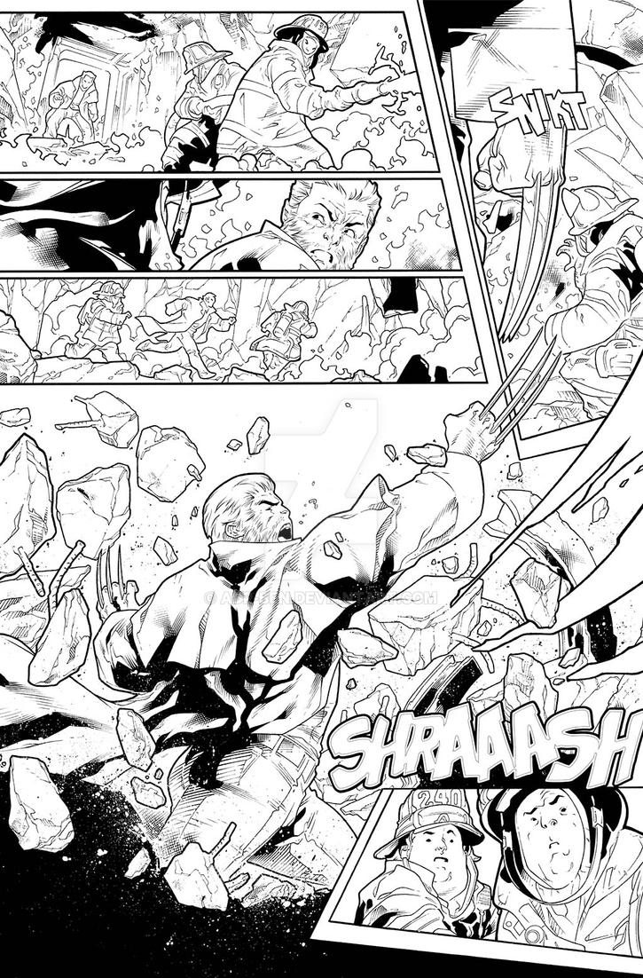 X-Men Gold #5 - Page 4 by adr-ben