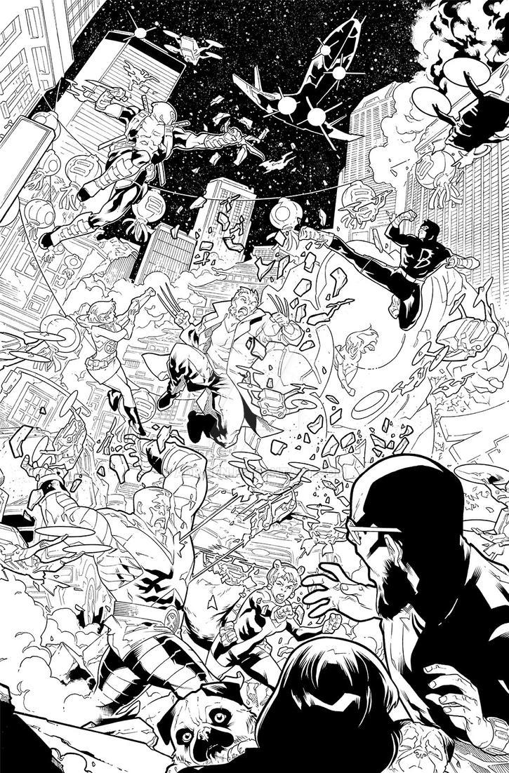 X-Men Gold #6 - Page 3 by adr-ben