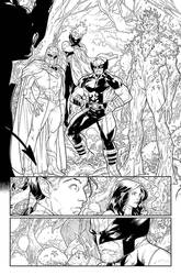 Powers of X #1 - Page 24 - INKS