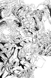 Captain Marvel #21 - Page 05 INKS