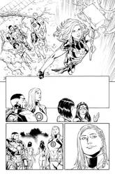 Captain Marvel #21 - Page 18 INKS