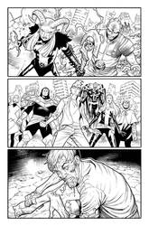 Empyre X-Men #4 - Page 12 INKS