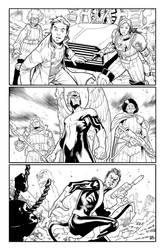 Empyre X-Men #4 - Page 13 INKS