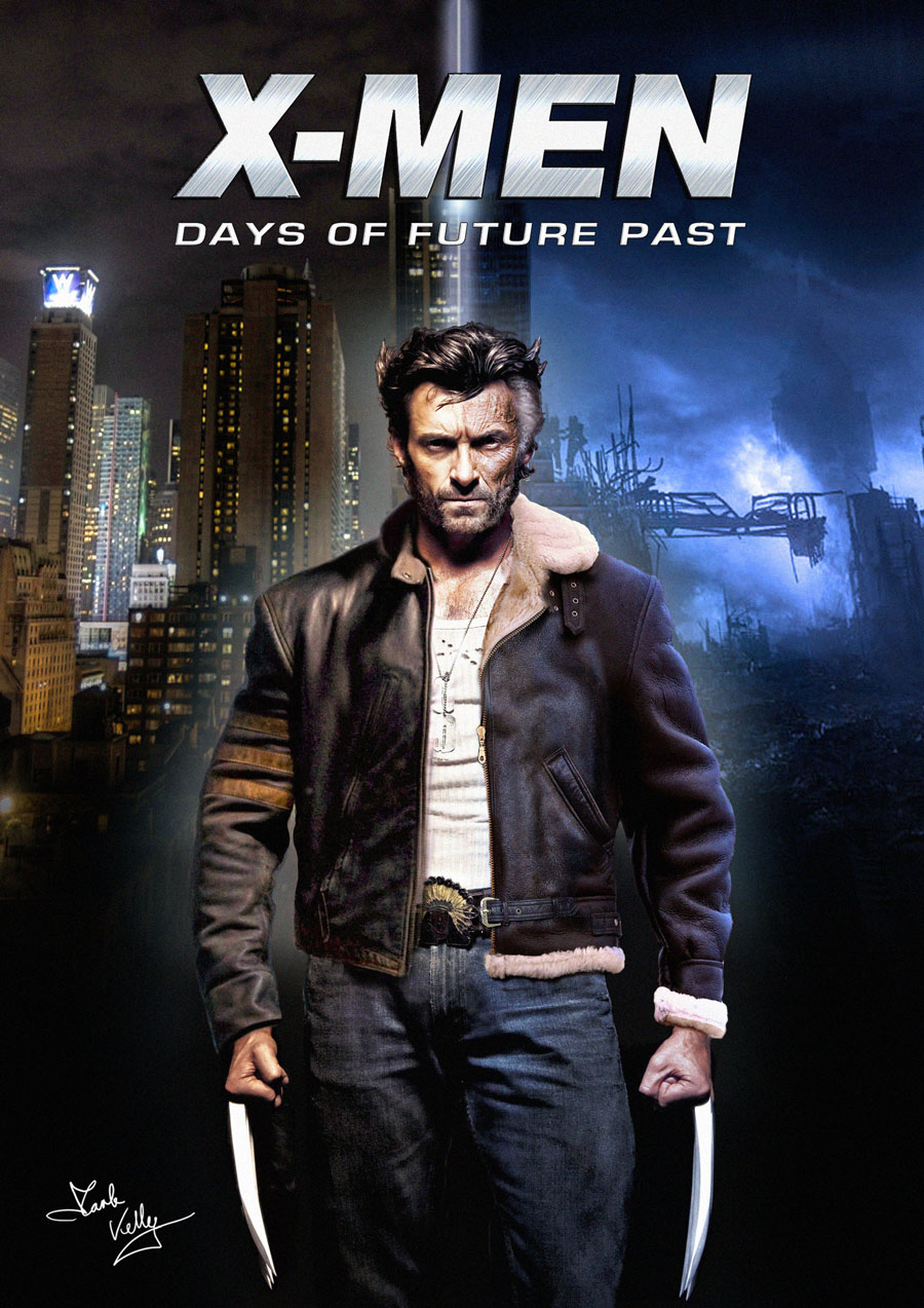 X-Men - Days of Future Past - Wolverine by wobblyone