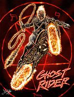 Ghost Rider by wobblyone