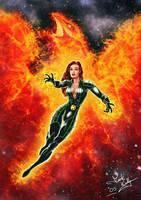 X-Men - Phoenix by wobblyone