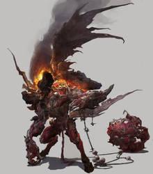 Ghoul by fengua-zhong