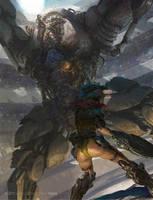fighting by fengua-zhong