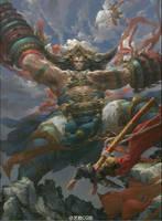Heavenly Kings wrath by fengua-zhong