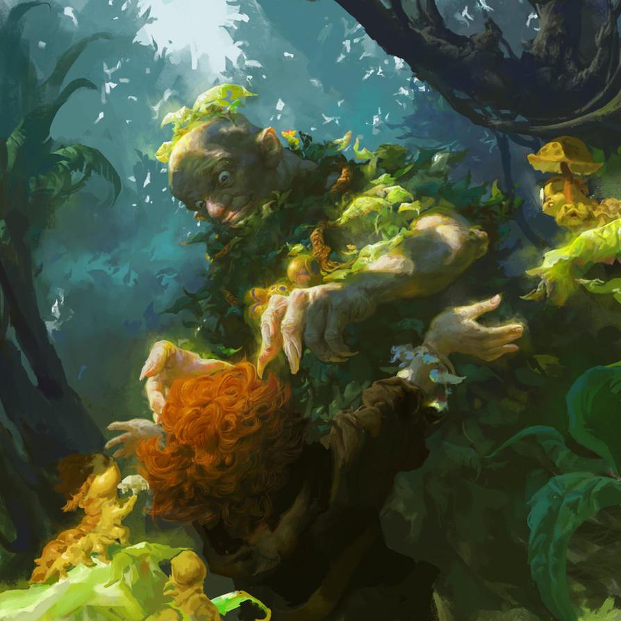 The fairy tale by FenghuaArt