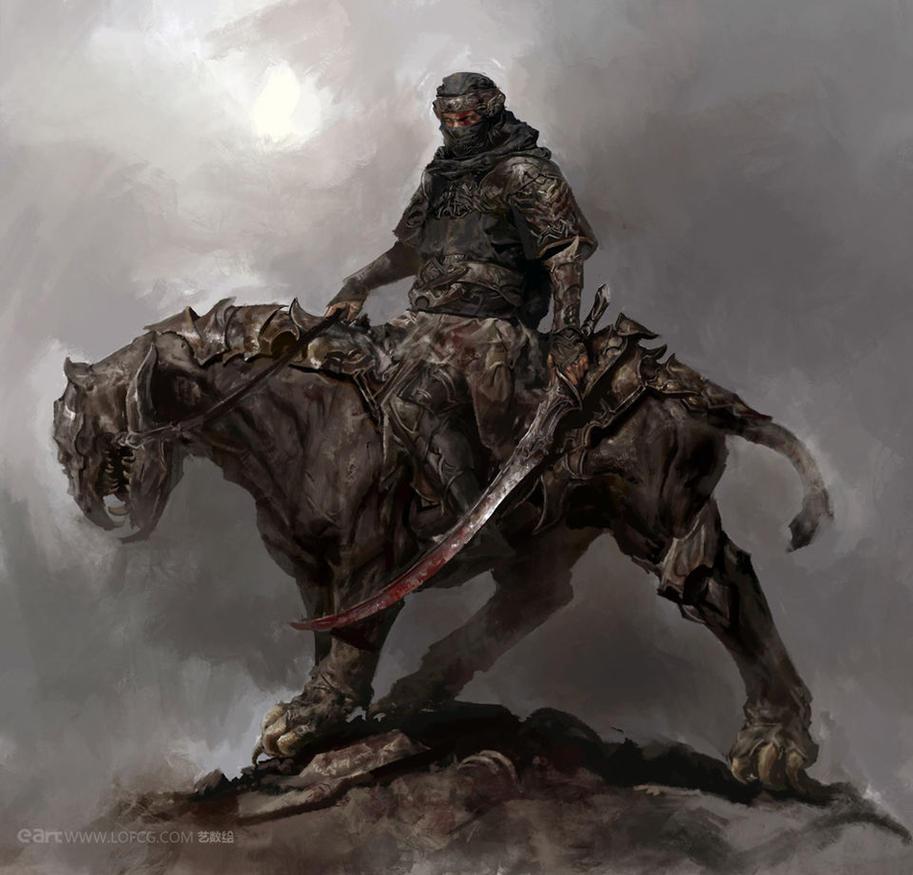 Warrior by FenghuaArt