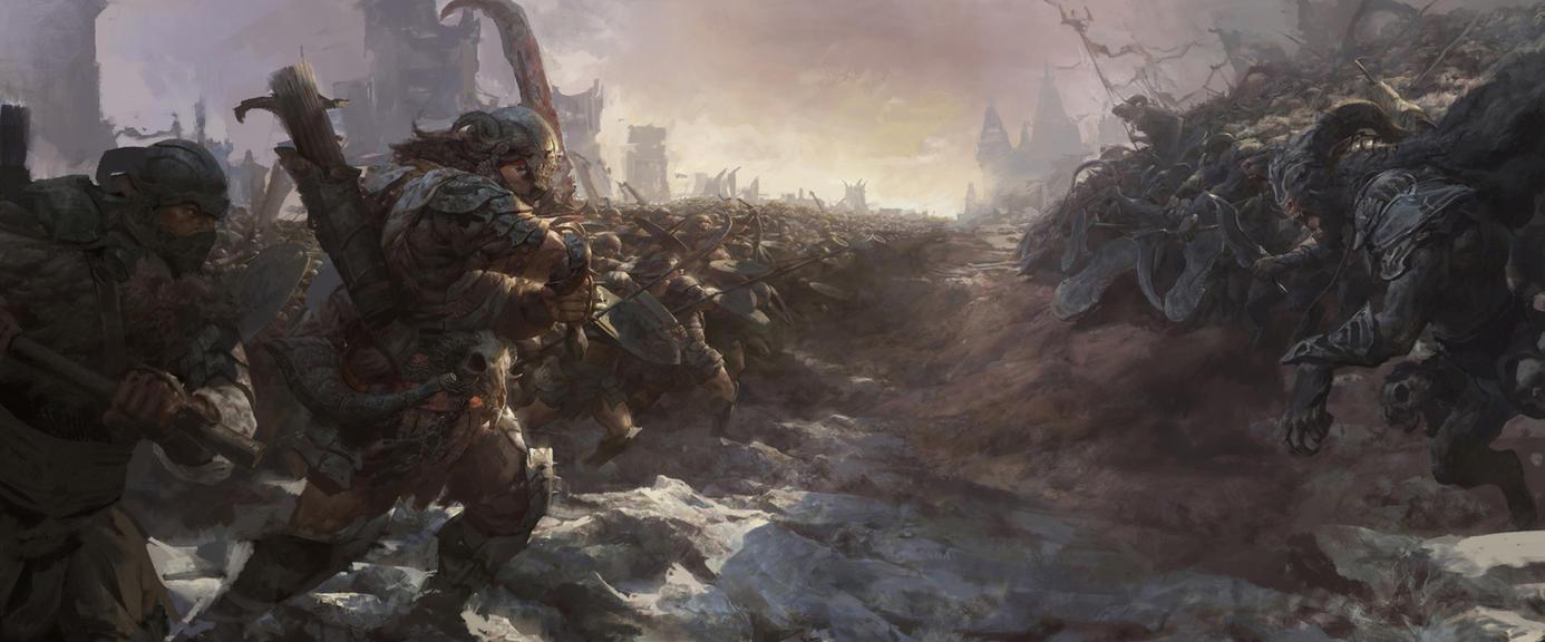 War by FenghuaArt