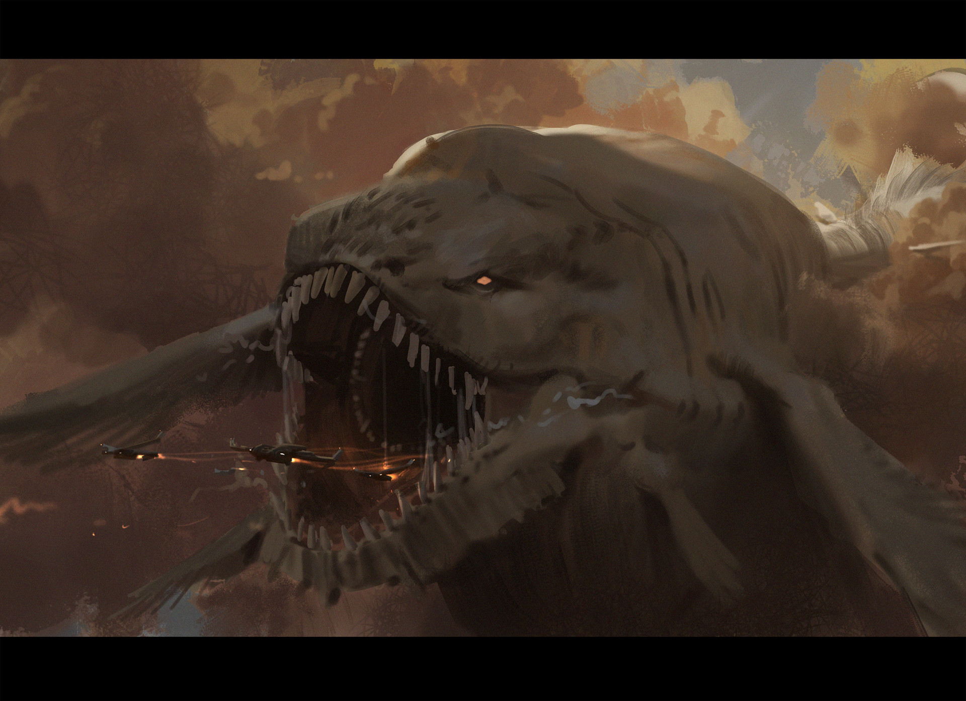 Leviathan by fengua-zhong