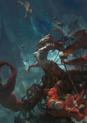scorpion War by fengua-zhong