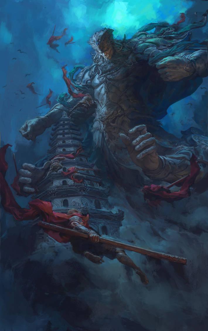 Heavenly king by fengua-zhong