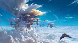 Cloud City by fengua-zhong