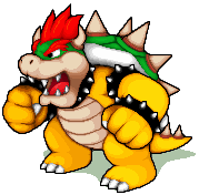 Pixel Art - Bowser by NeoZ7