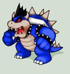Pixel Art - Dark Bowser