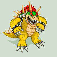 Pixel Art - The Real Bowser by NeoZ7
