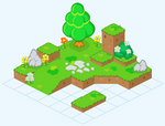 Testworld 1 (Grass-Tiles)
