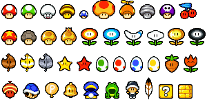 Items and Powerups