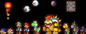 Various Mario Characters