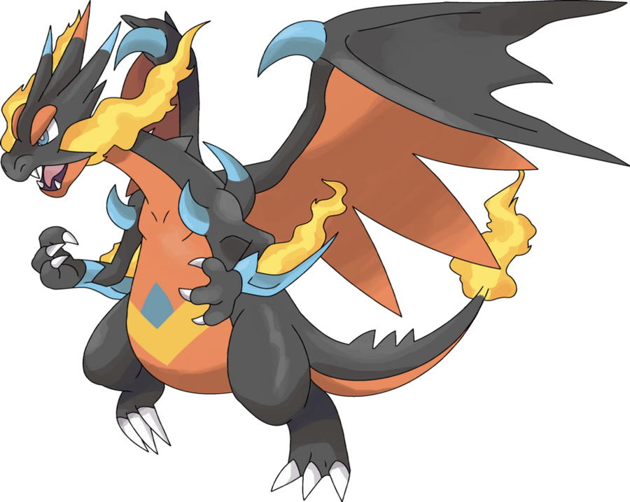 The gallery for mega charizard z - Mega evolution dracaufeu ...
