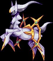 Arceus - Pixel Art