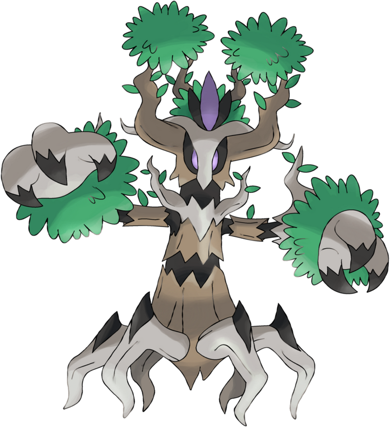 Image Gallery Pokemon Trevenant