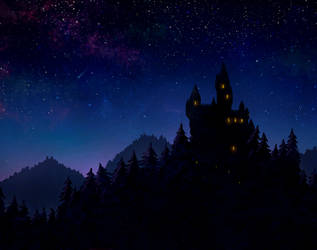 Castle in the Forest by NeoZ7