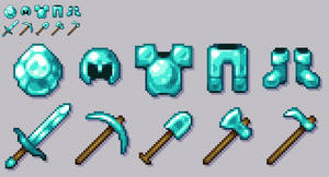 Diamonds! (Pixel Art)