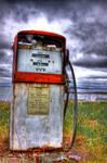 Antique Gas Pump HDR