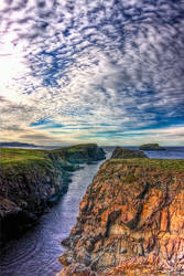 Puffin Island in HDR by Witch-Dr-Tim