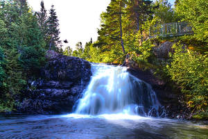 Falls NorrisArm Newfoundland by Witch-Dr-Tim