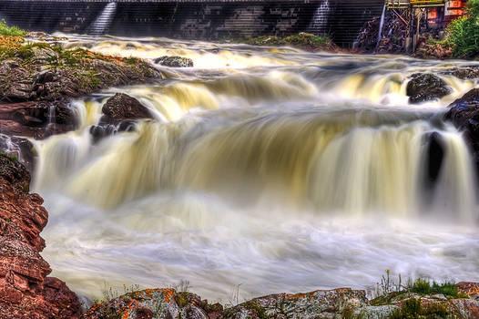 The falls of Bishop Falls