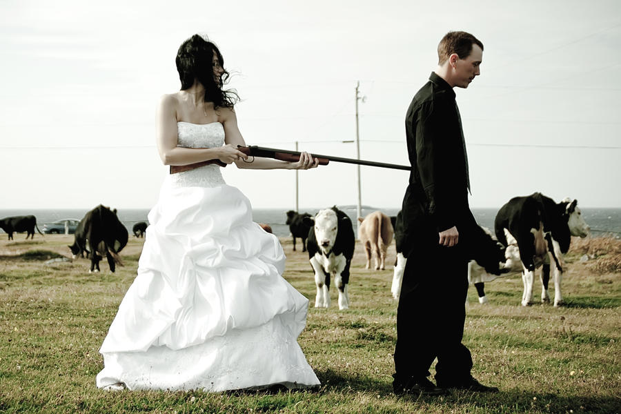shotgun wedding lol by witch dr tim on deviantart