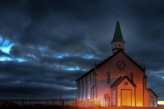 Early Morning Church