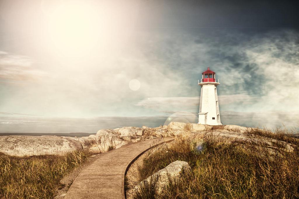 Peggys Cove Nova Scotia by Witch-Dr-Tim