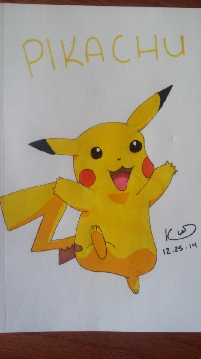 Pikachu by blazethecat921